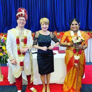 Pauline Fawkner cultural wedding