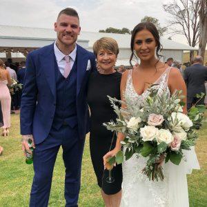 Pauline Fawkner wedding