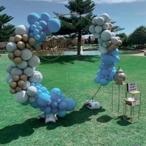 Perth Pop Up Parties balloon wall