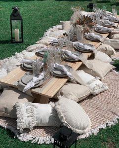 Perth Pop Up Parties boho picnic