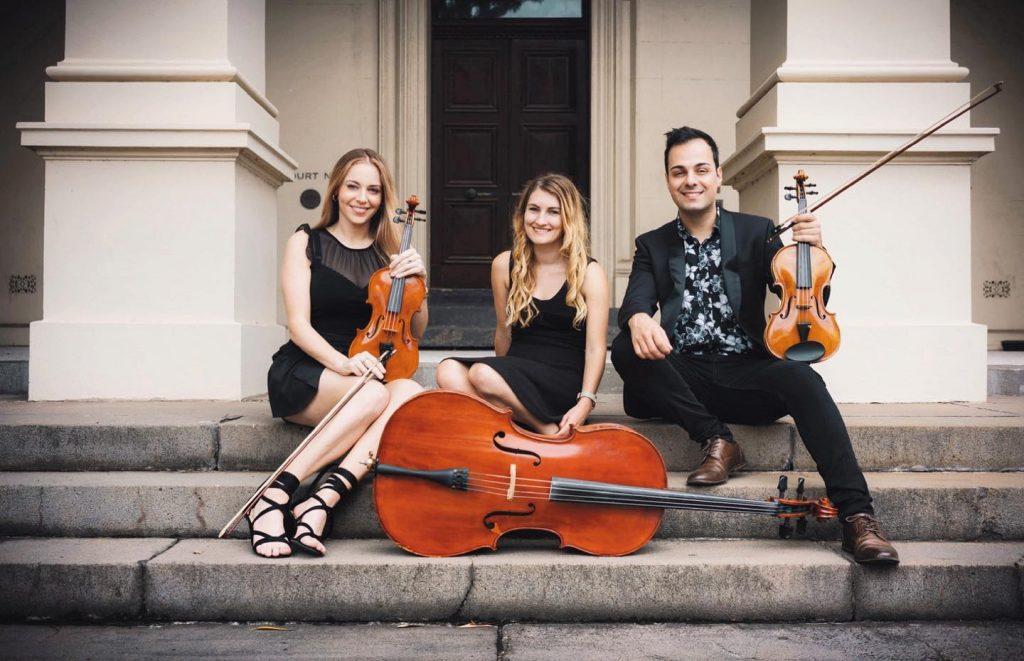 Q Strings Trio group shot