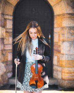 Q Strings Trio violin