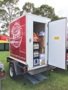 Redi Coolroom Hire packed