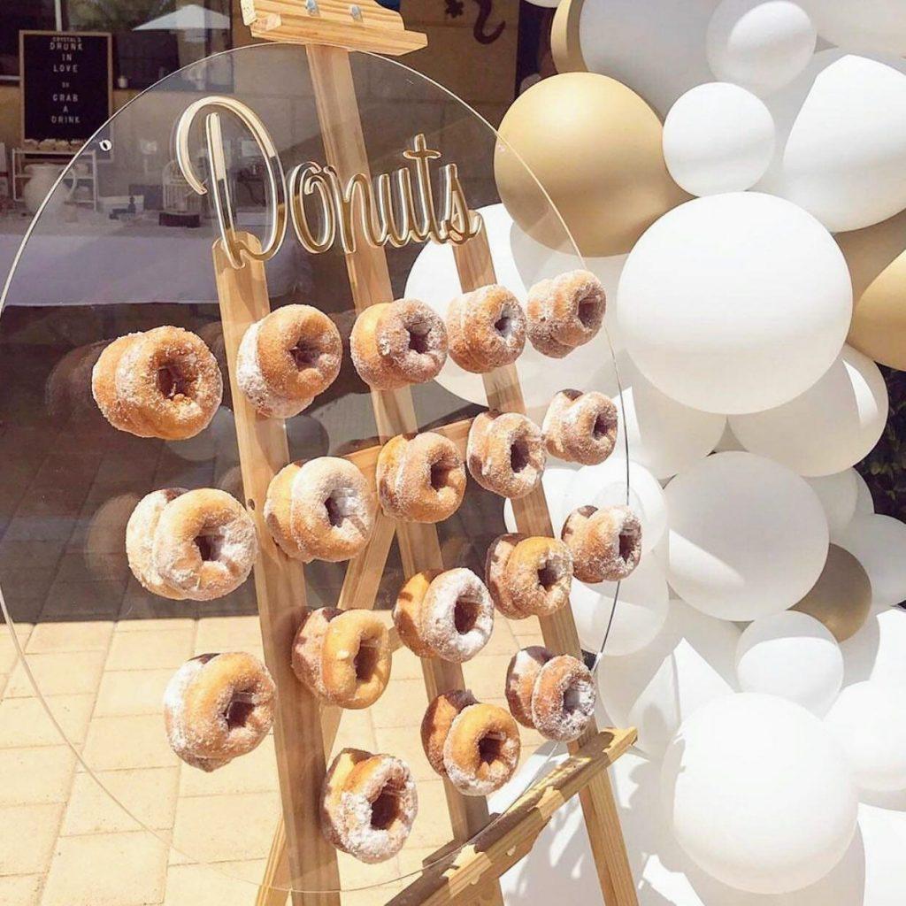 Rent My Wall cinnamon donuts