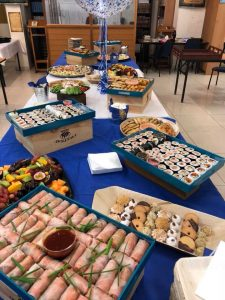 Rimon Catering birthday spread