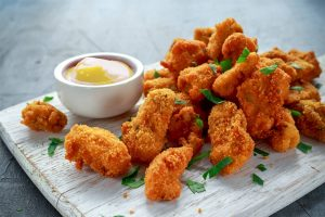 Rimon Catering crumbed fish