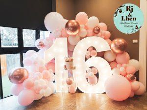 Rj & Lhen Balloons Company 16th