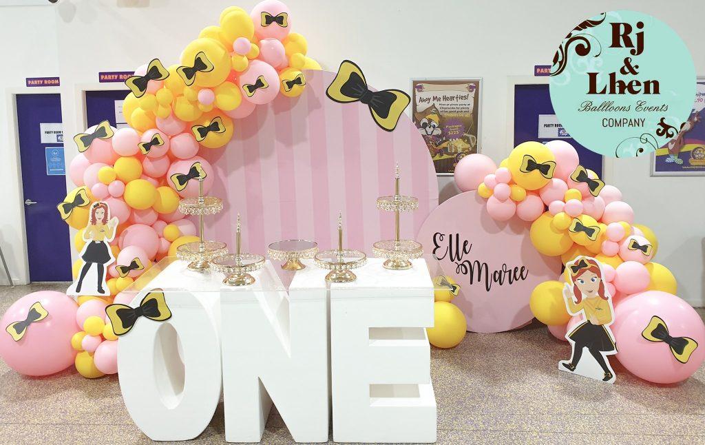 Rj & Lhen Balloons Company Emma Wiggle