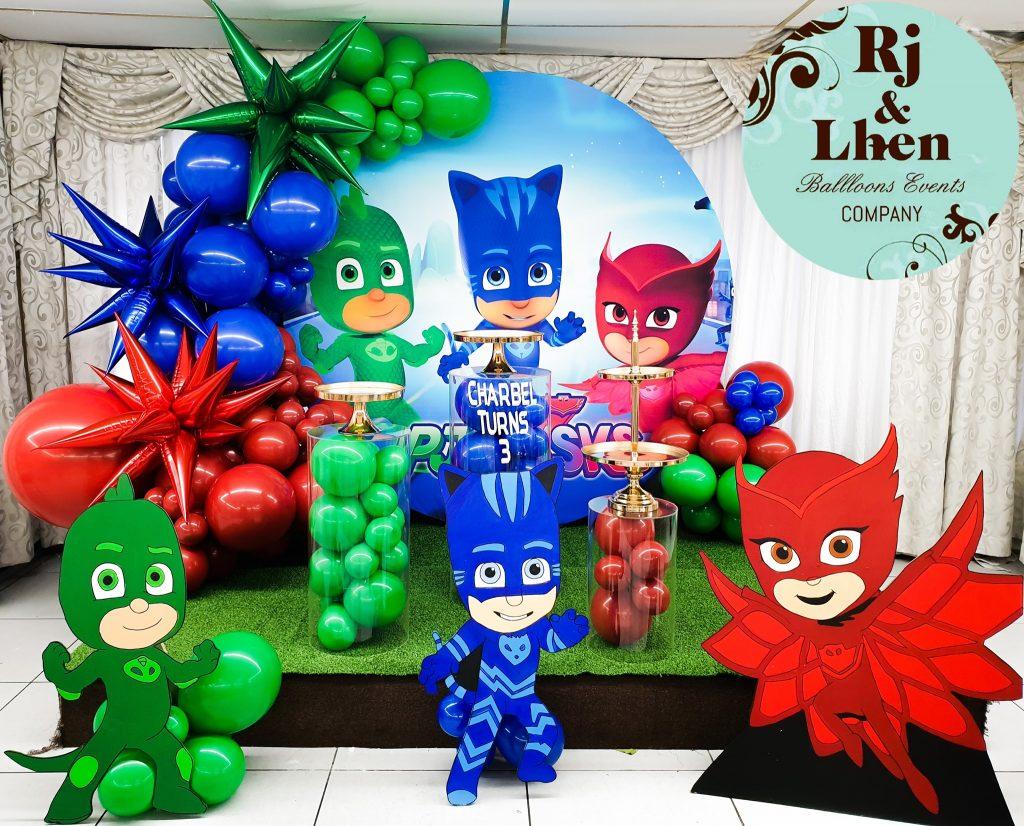 Rj & Lhen Balloons Company PJ Masks