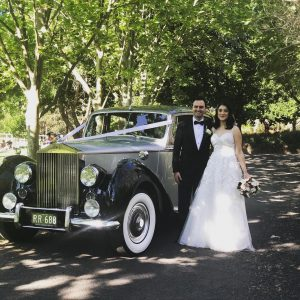 Royalty Wedding Cars just married