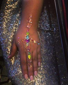 Shimmer Squad arm jewels