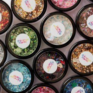 Shimmer Squad glitter jars