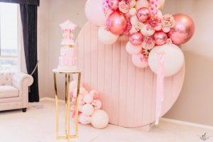 Signature Event Styling pink wall