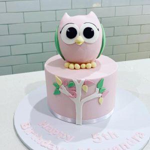 Sugar Princess Cakes owl cake