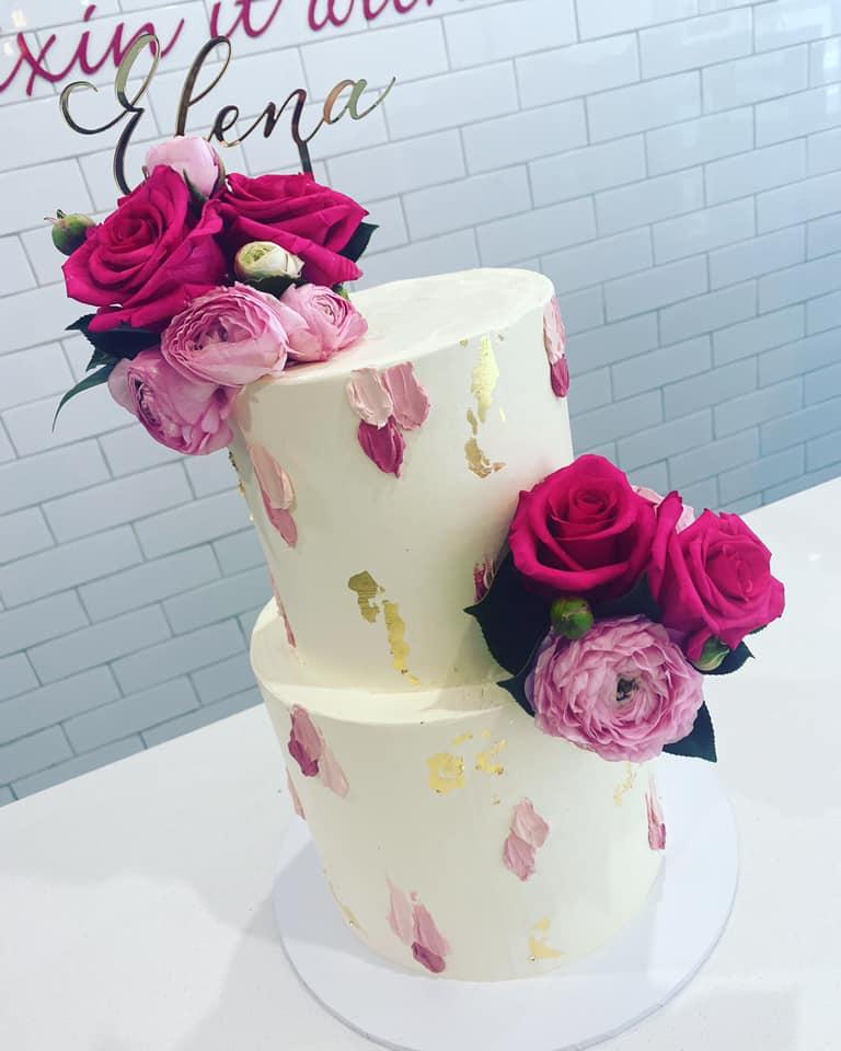 Sugar Princess Cakes rose cake
