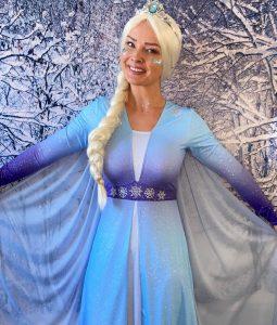 Supa Dupa Kids Parties Elsa character
