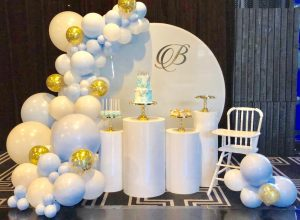 Sweet Heavenly Events & Party Hire formal display