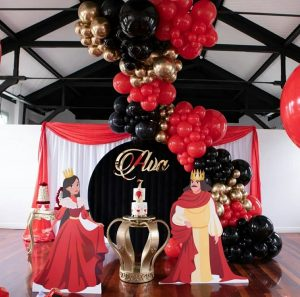 Sweet Heavenly Events & Party Hire king and queen