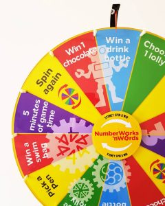Sydney Spin & Win events wheel