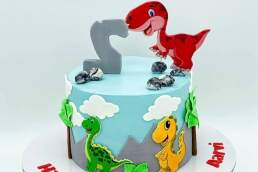 The Cake Story By Kunza dino cake