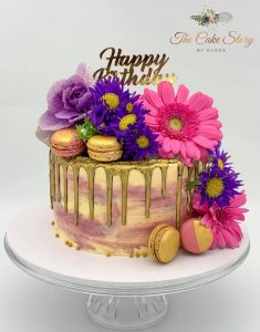 The Cake Story By Kunza floral cake