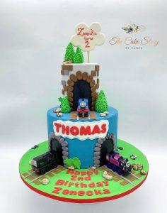 The Cake Story By Kunza thomas cake