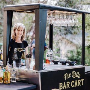 The Little Bar Cart event drinks
