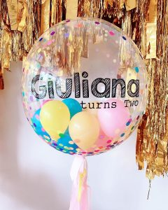 The Little Big Balloon Co birthday ball
