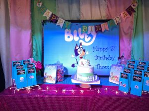Party Room for Kids Bluey