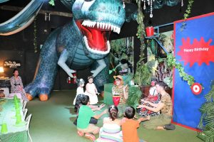 Party Room for Kids dinosaur