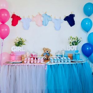 Theme Your Day gender reveal