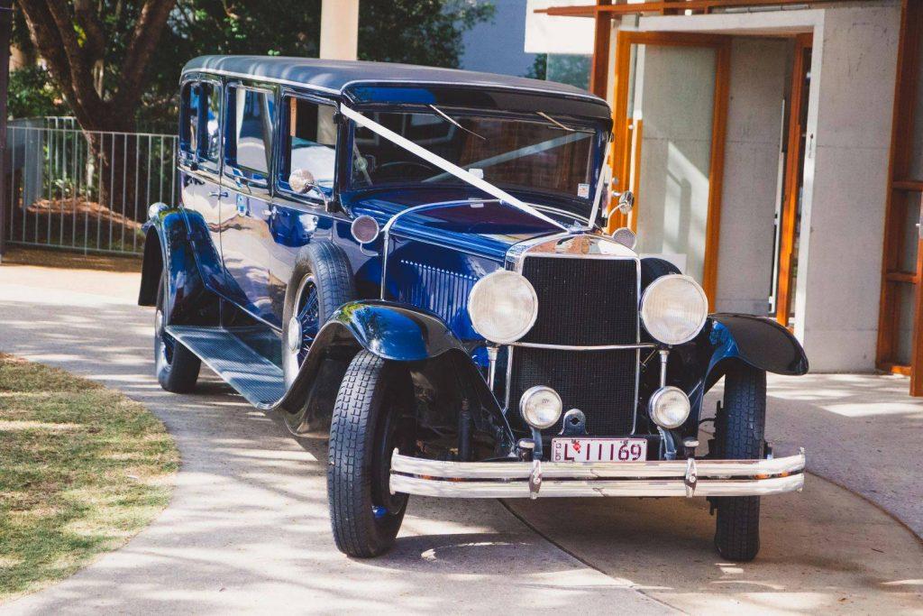 Tic Tac Tours & Premier Limousines vintage car