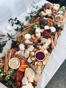 Up + Away Creations grazing board