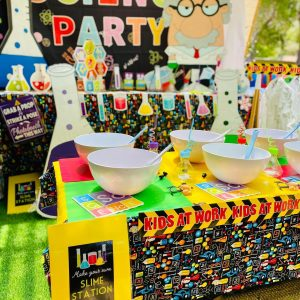 Yellow Lemon Party Hire science party