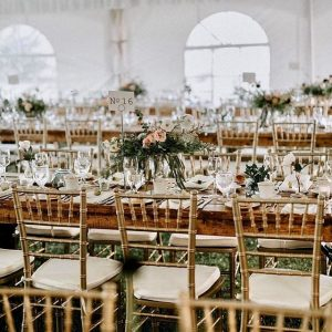You're Invited Event Hire chiavari chairs