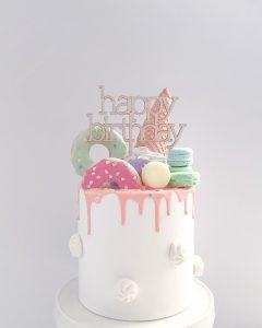 A Little Whimsy macaron cake