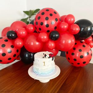 Balloon Emporium Co red and black