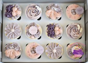 House Of Royal Velvet piped cupcakes