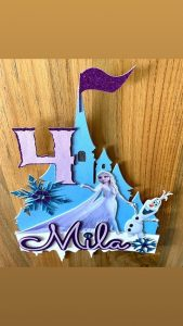 Poppet Toppers Frozen theme