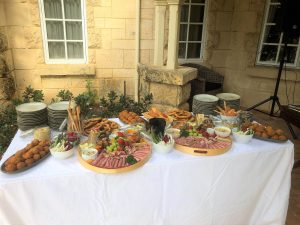 Griffin Catering & Events grazing table