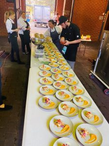 Griffin Catering & Events group serving up