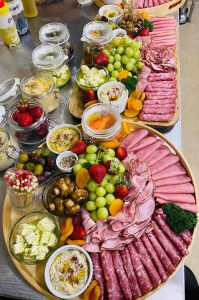 Griffin Catering & Events meat platters