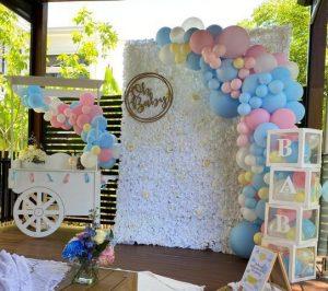 Party Brisbane oh baby shower setup