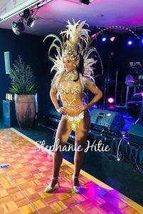 Stephanie Hitie dancer pose