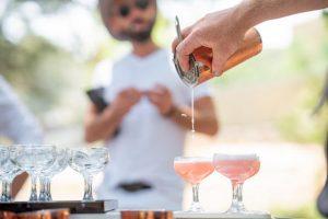 Trolley'd cocktail varieties
