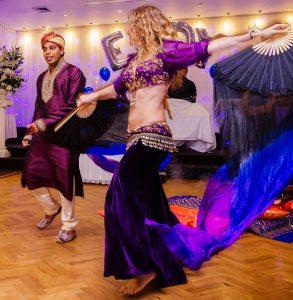 Ulah Arabesque groom dance