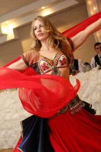 Ulah Arabesque wedding dance