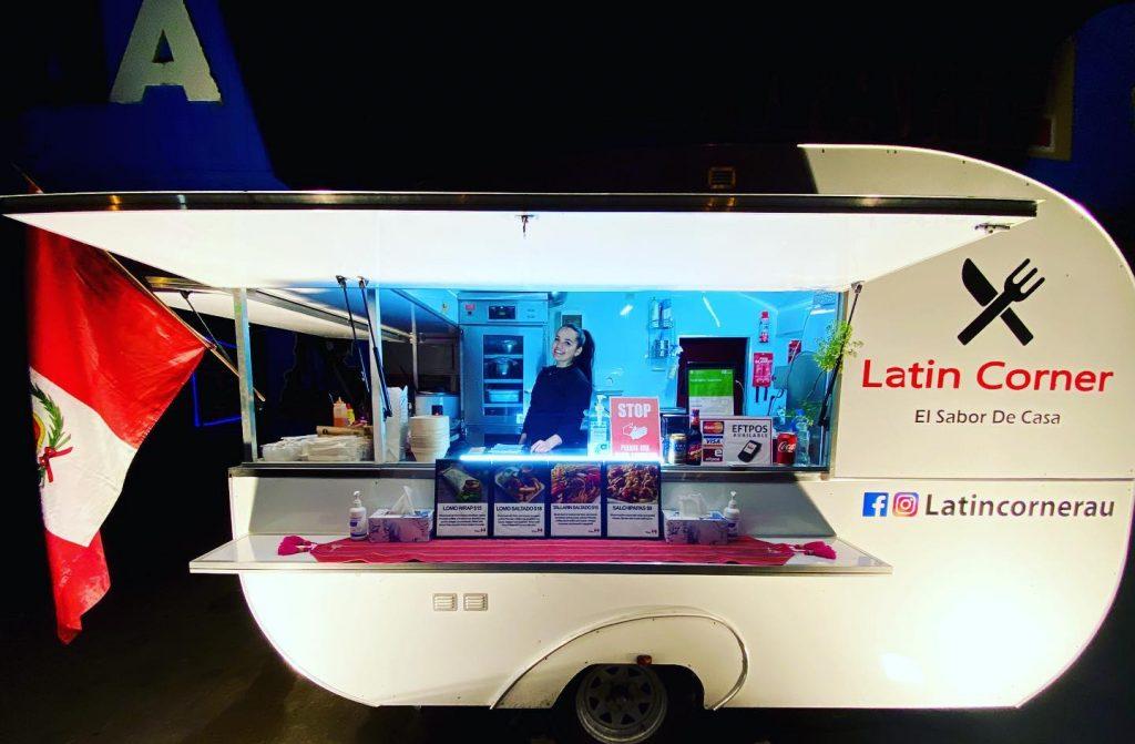 Latin Corner truck