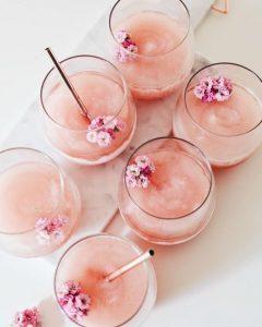 The Little Pink Van cocktails