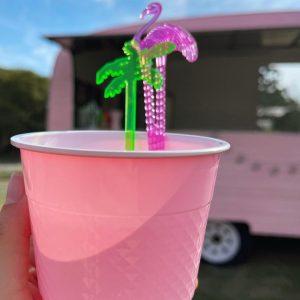 The Little Pink Van flamingo